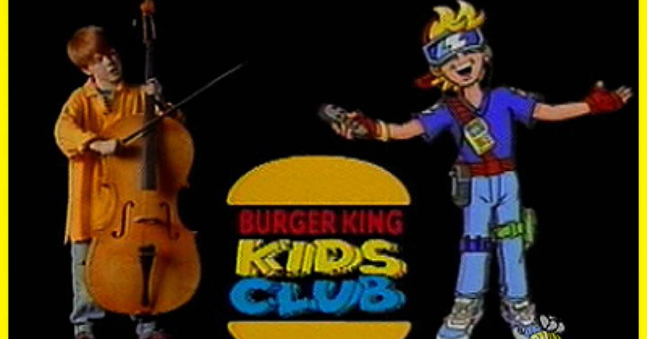 Детский клуб Burger King